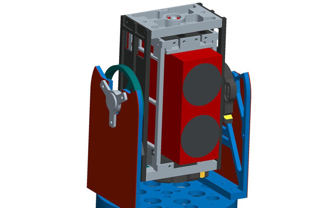 3 Axis Piezoelectric Acutated Gimbal
